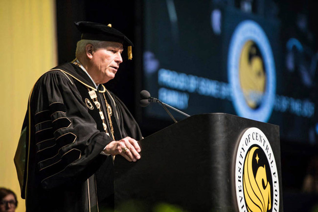University of Central Florida President John Hitt, who retired last month, earned $1.28 million