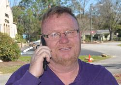Bunnell City Commissioner John Rogers. (© FlaglerLive)