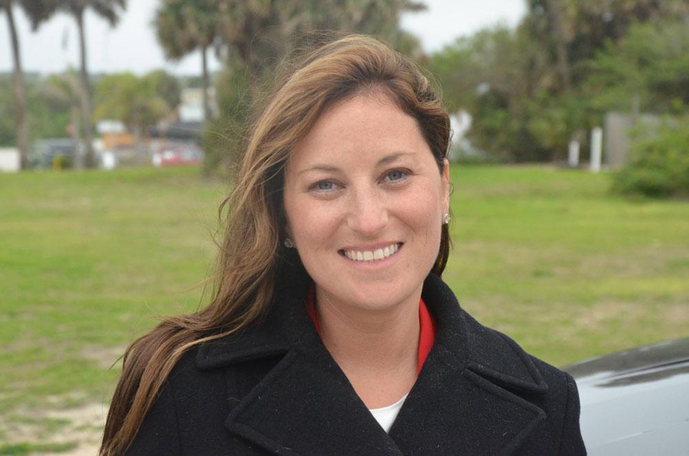 Mayor-Elect Suzie Johnston. (© FlaglerLive)