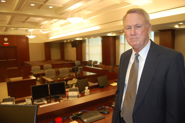 Judge Kim C. Hammond presided over Flagler County criminal, family and civil court from 1979 to 2011. (© FlaglerLive)
