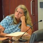 Kimberle Weeks during her trial last spring. (© FlaglerLive)