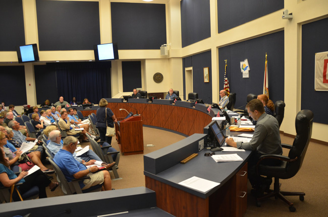 The Flagler County Planning Board after a long and contentious set of hearings on the Lakeside development matter unanimously recommended approval of all proposals. (c FlaglerLive)