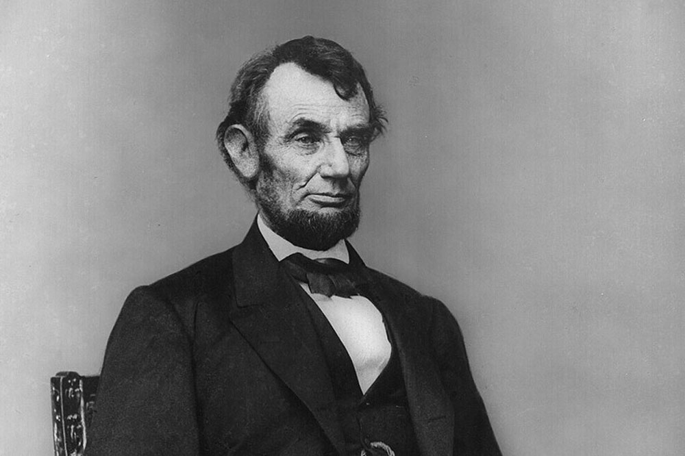 We could use a little Lincoln right now. (Mathew Brady, Library of Congress, Feb. 9, 1864)
