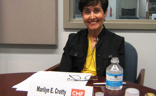 Marilyn Crotty, director of UCF's Florida Institute of Government and the facilitator of some 16 charter reviews in Florida, will shepherd Palm Coast's charter review process over the next half year. (Charles E. Miller, Carroll McKenney Foundation for Public Media)