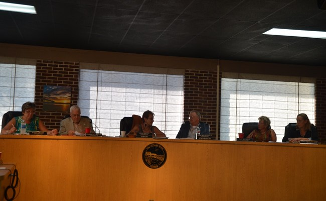 The Flagler Beach City Commission unanimously agreed to a compromise that will open the city to medical marijuana dispensaries, limiting them to the mainland. (c FlaglerLive)