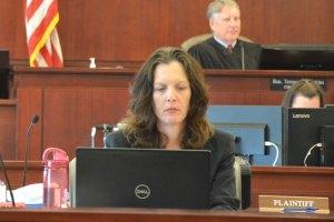 Assistant State Attorney Melissa Clark. (© FlaglerLive)