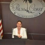 Palm Coast Mayor Milissa Holland. (c FlaglerLive) state of the city
