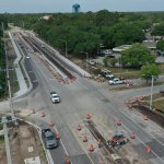It's almost over: though delayed, the substantial completion date for the widening of Old Kings Road at Palm Coast Parkway is now scheduled for Oct. 22, a month past the original date. (Palm Coast)
