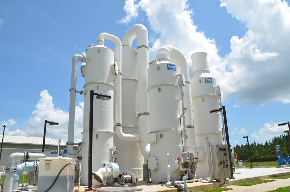 A Palm Coast water plant. (© FlaglerLive)