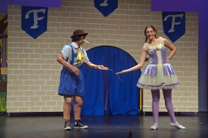 Alex Marvel as Pinocchio with Haleigh Henegan as the Sugar Plum Fairy. Click on the image for larger view. (© FlaglerLive)