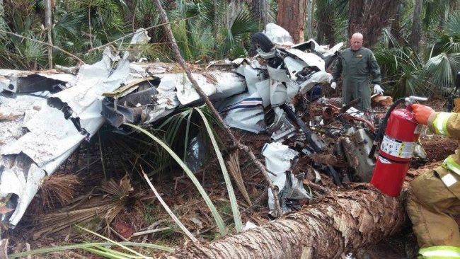 plane crash plantation bay
