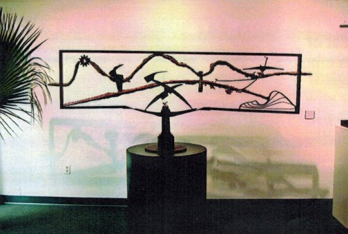 Harry Messersmith's 'Primordial Landscape.' Click on the image for larger view. (GAF)