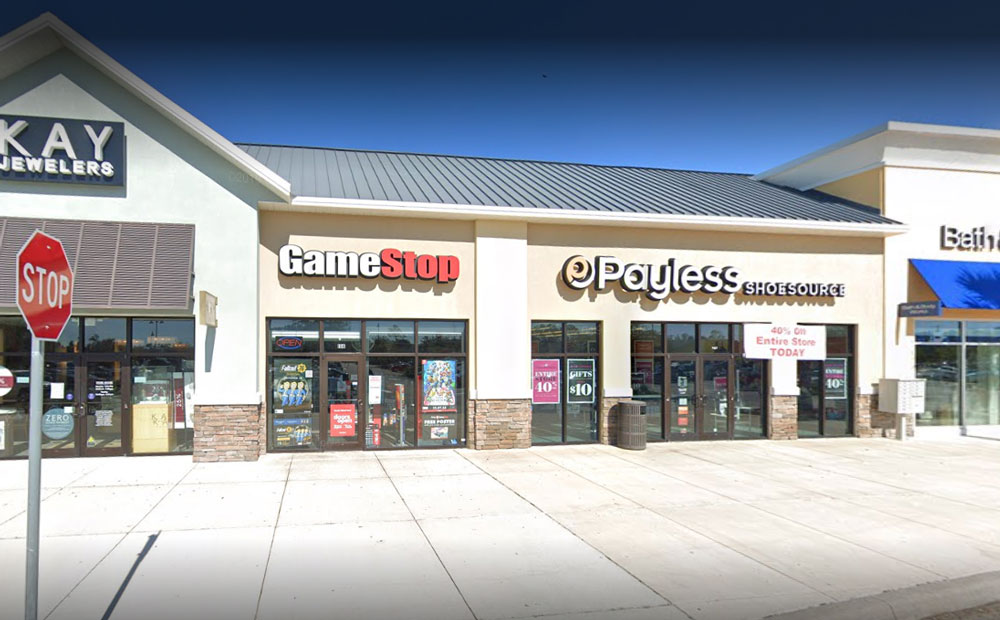 The robbery at GameStop took place shortly after 11 a.m. Tuesday. (Google)