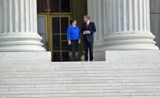 chief justice john roberts elena kagan us supreme court campaign finance