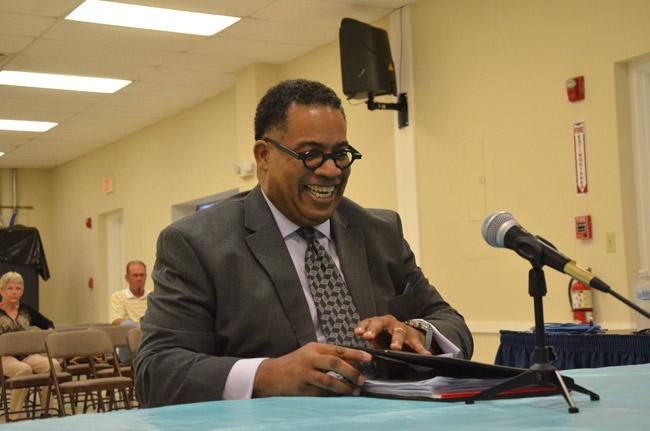 Rodney Lucas is Bunnell's new community development director. (© FlaglerLive)