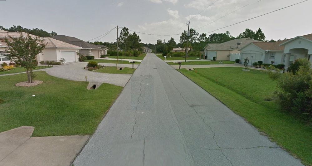 The shooting took place on Roxland Lane in Palm Coast around 11:30 p.m. (Google)
