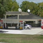 The robbery took place at the Shell station at the corner of Palm Coast Parkway and Club House Drive.