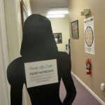 """A """"silent witness"""" at Flagler County's Family Life Center, the county's only shelter for abused persons, in operation since 1987. (© FlaglerLive)"""