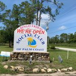 The Social Club of Palm Coast's secretary was defensive and inaccurate as she told the County Commission that the superspreader could have happened anywhere. (© FlaglerLive)