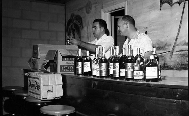 bottle clubs juke joints booze
