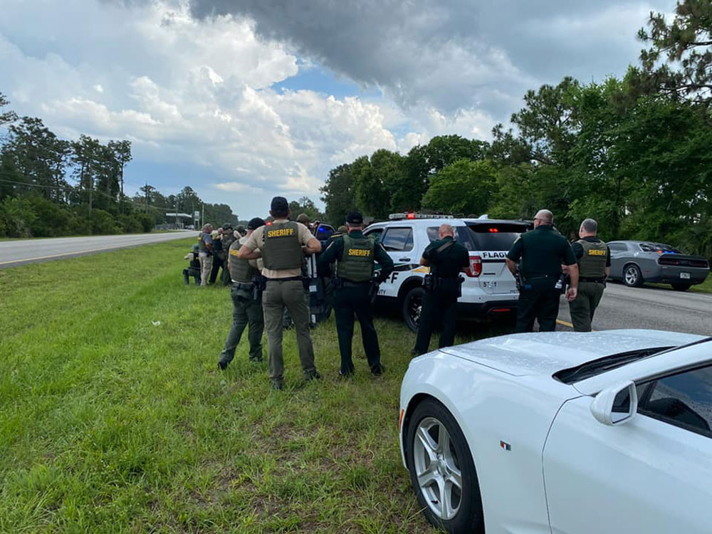For the third time in two weeks, Flagler County Sheriff's deputies and their crisis negotiation team talked an armed, suicidal man down from self-harm. (FCSO)
