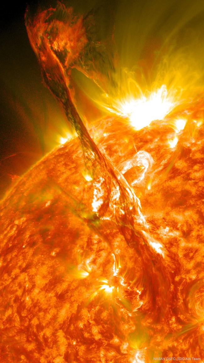 NASA solar flares