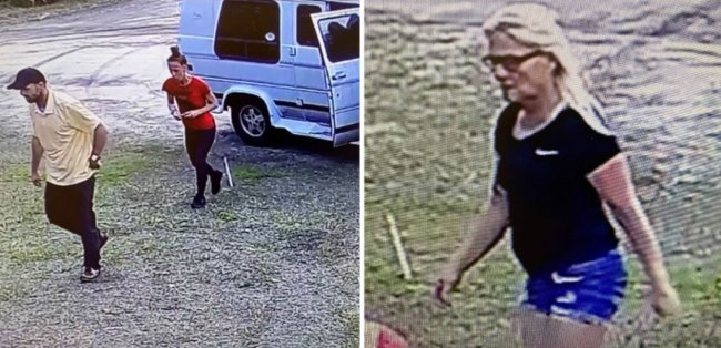 The sheriff's office is still seeking the public's help in identifying the people in these images. They are suspected of having stolen items from St. Mary's Thrift Shop.