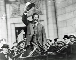 Teddy Roosevelt was key to the passage of the 16th Amendment. (Shutterstock)