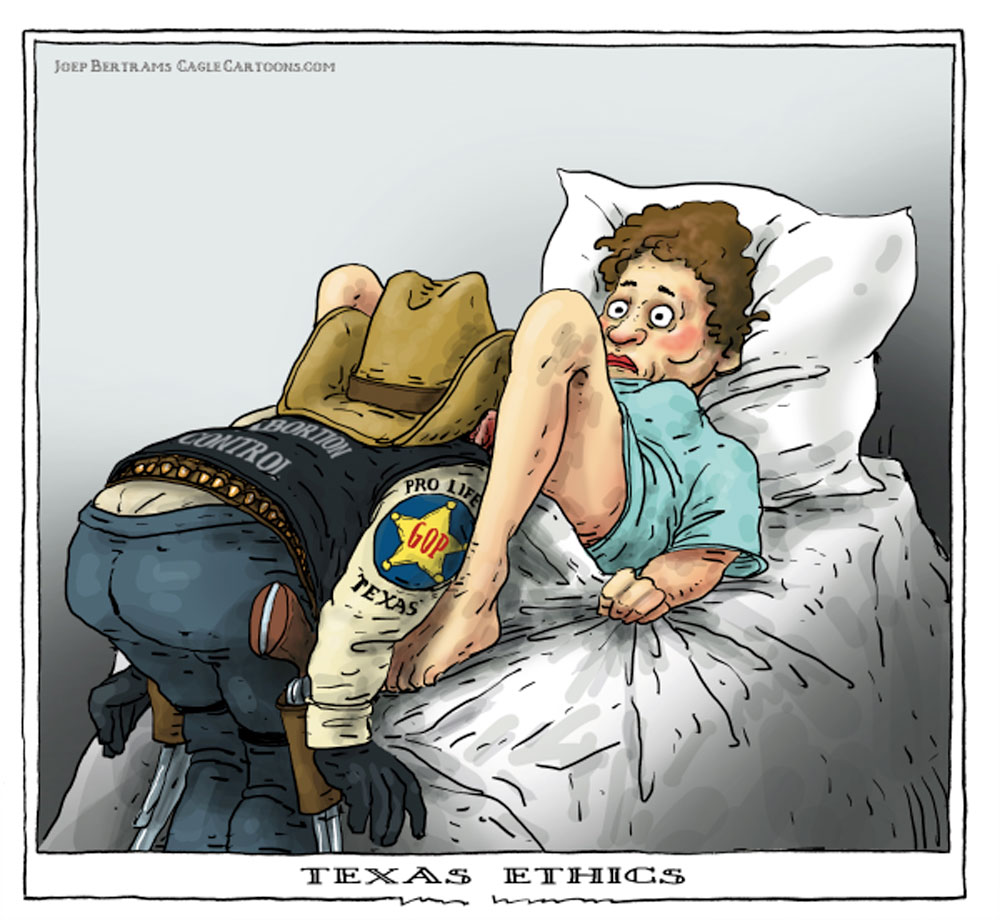 texas ethics by Joep Bertrams, The Netherlands