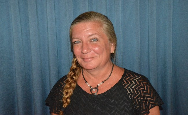 Toni Baker is one of four candidates for District 2 of the Flagler County School Board. (© FlaglerLive)