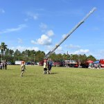The Touch-a-Truck event Palm Coast organized in late May, where the city's fire chief, Jerry Forte, said he was approached by County Commissioner Joe Mullins, who spoke to him about Palm Coast taking over the county's fire services. (Palm Coast)