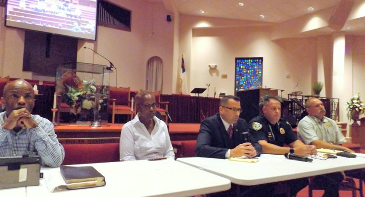 panelists naacp town hall on violence