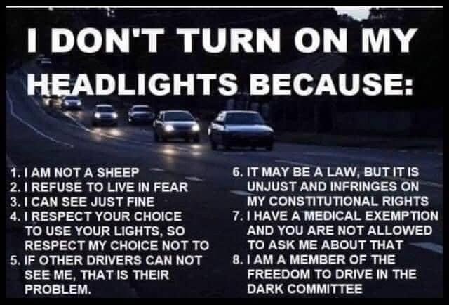 headlights meme