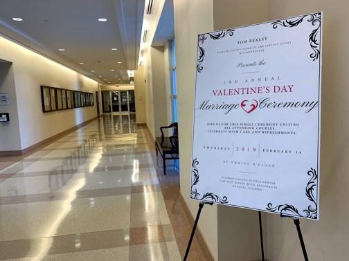 valentines day marriage ceremony flagler