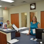 Flagler County Supervisor of Elections Kaiti Lenhart cheered the registration extension, saying it would give many people who'd evacuated the chance to participate. (© FlaglerLive)