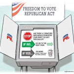 Republican Voting Rights Act by R.J. Matson, CQ Roll Call