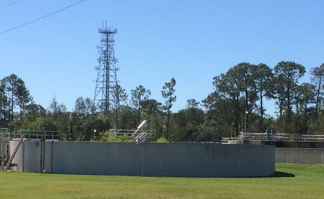 Flagler Beach's antiquated wastewater system is in dire needs of multi-million dollar upgrades. (© FlaglerLive)