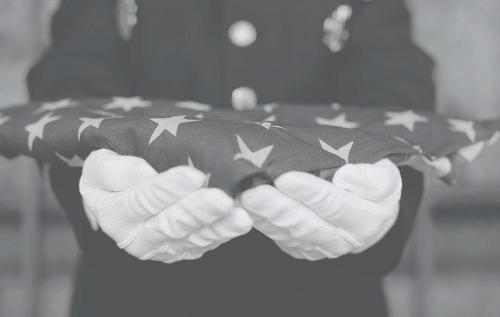 Flag etiquette Flag of Honor 9/11