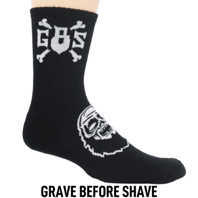 grave before shave
