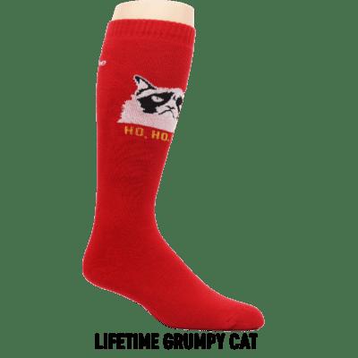 grumpy cat ski boot text