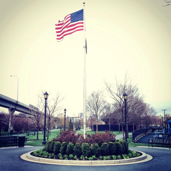 flagpole landscaping flagpoles