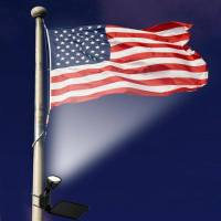 Flagpole Lighting Options | Flagpoles Etc.