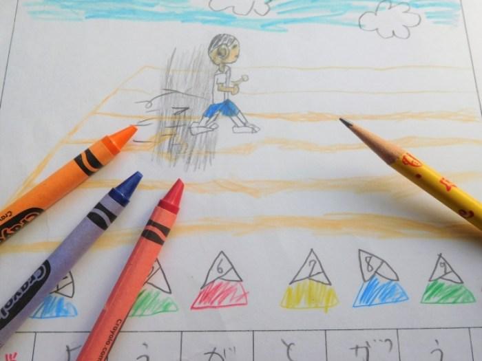 夏休みの絵日記の書き方