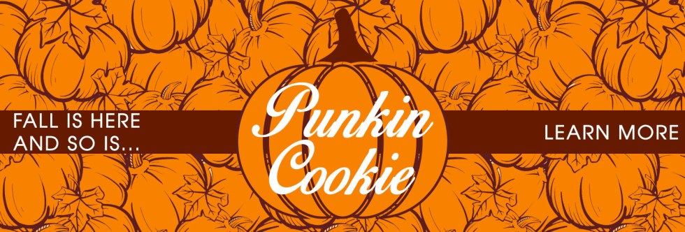 Punkin Cookie 2018 Banner