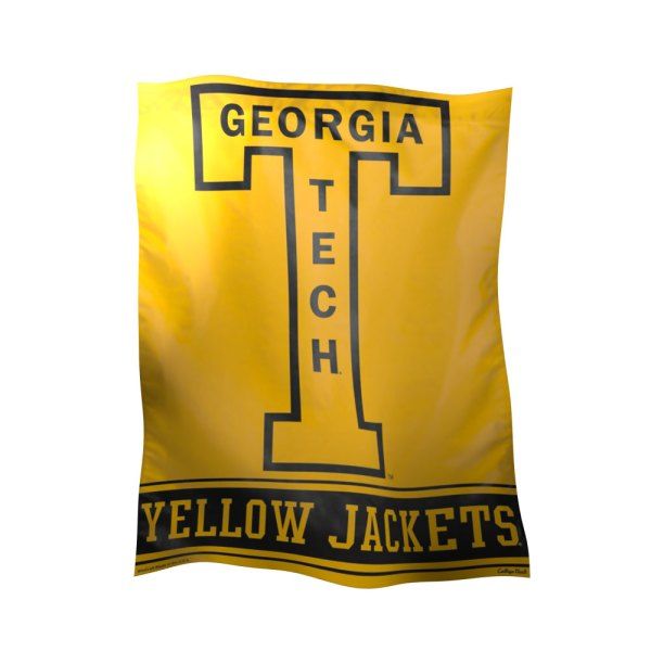 Georgia Tech Polyester Banner Flags International