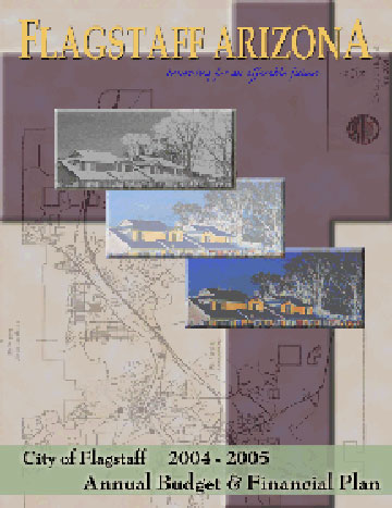City of Flagstaff Official Website  2005 Annual Budget