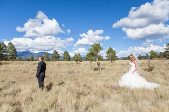 flagstaff outdoor forest wedding venue enchanted forest wedding