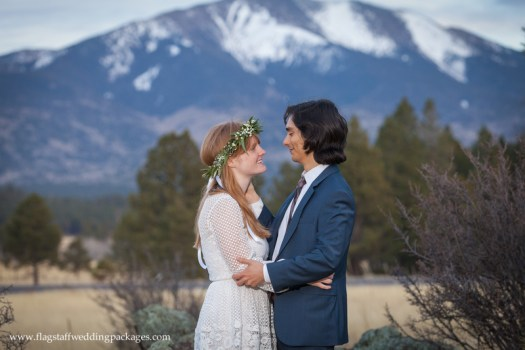 Flagstaff Wedding Packages Spring Elopement