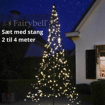 Fairybell LED juletræ med stang