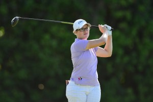 Augusta James is near the lead in Charlotte, North Carolina (Photo: Symetra Tour)
